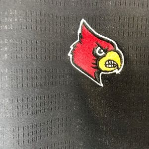 adidas Shirts - Adidas CLIMALITE  Black Cardinals Golf Shirt 2XL